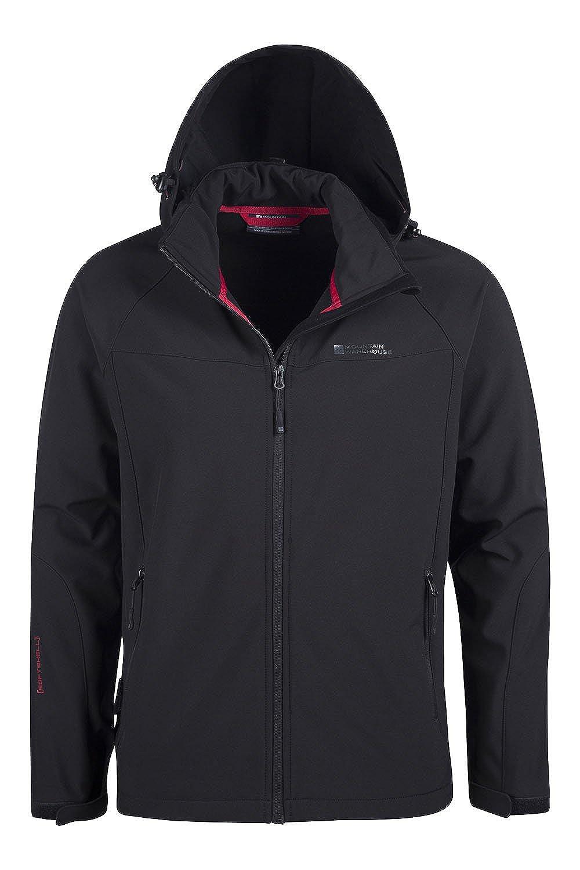 Men's exodus jacket - Mountain Warehouse Exodus Mens Softshell Jacket Breathable Lightweight Showerproof Amazon Co Uk Sports Outdoors