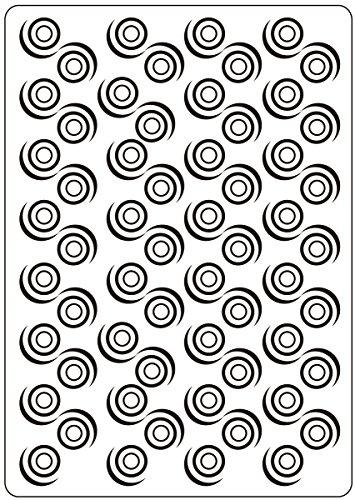 Embossing Folder X5 75 Swirl Background
