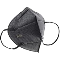 Máscaras KN95 Preta - Kit de 10, 20, 30, 40, 50, 100 Unidades - FPP2 PFF2 - Filtragem > 95% - Embaladas de 10 em 10 (10)