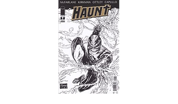 The Haunt 1 Collectors Edition Variant Cover Gold Foil Logo McFarlane Cover