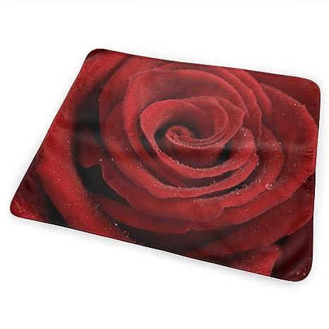 Cojín cambiador Heart of a Red Rose El cambiador portátil ...