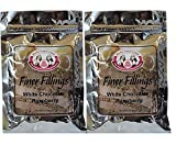 White Chocolate Raspberry Finer Fillings 60g Dessert Mix by More Than Cake, 2 Pack