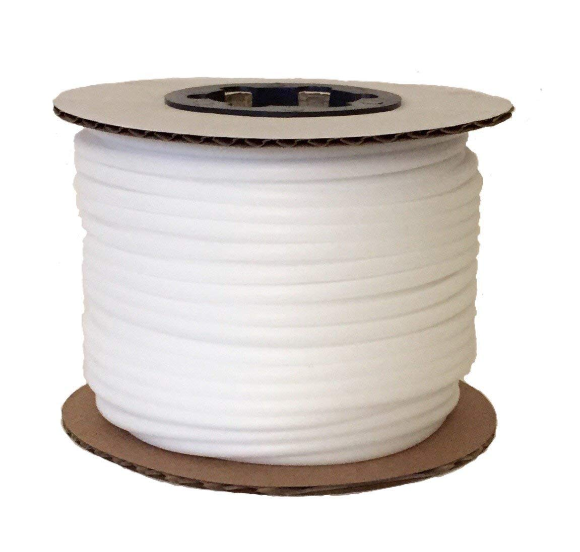 Upholstery Plastic Foam Welt Cord Piping Firm Made in USA 5/32'' (60 Yards) by Great Lakes Cordage