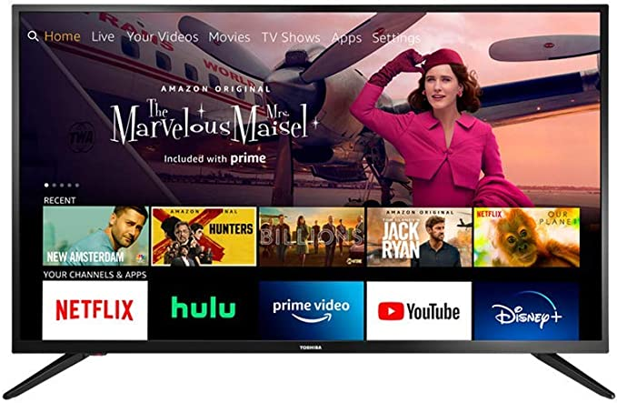 Amazon.com: All-New Toshiba 32LF221U21 32-inch Smart HD 720p TV - Fire TV Edition, Released 2020: Electronics