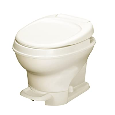 Thetford 31651 Aqua-Magic V Toilet, Low/Pedal Flush/Parchment: Automotive