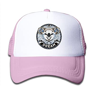 YUI Cap Koala Bears Boy Plastic Mesh Caps Adjustable Trucker Caps