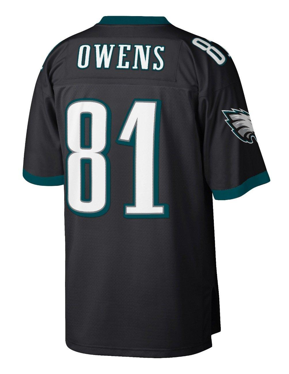 quality design ab2d5 e309a Mitchell & Ness Philadelphia Eagles Terrell Owens 2004 Throwback Jersey