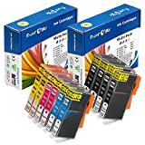 PrintOxe™ Compatible 564XL Two Sets of Ink Cartridges (10 Ink Cartridges) ; 2 Large Black (564XLPK-CN684WN), 2 Photo Black (564XLPBK), 2 Magenta (564XLM), 2 Cyan (564XLC), and 2 Yellow (564XLY). Exclusively sold by PanContinent