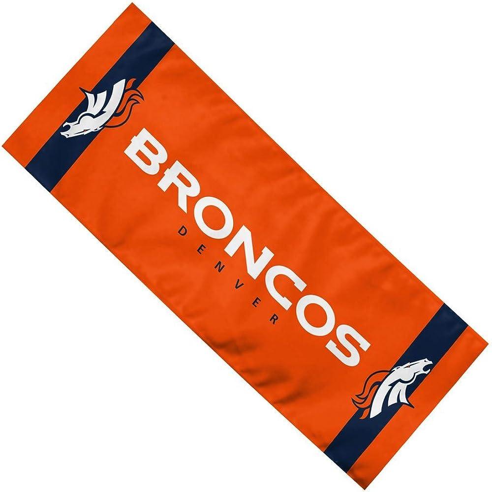 "NFL Team Enduracool Microfiber Towel, Denver Broncos, 12"" x 30"""