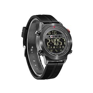 ZMM Mens Deportes Reloj Digital Cara Grande Militar Relojes De Pulsera con Alarma/Temporizador Al Aire Libre 30M Impermeable Deporte Reloj para iOS Teléfono ...