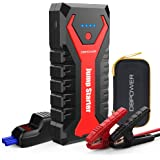 DBPOWER 2000A 20800mAh Portable Car Jump Starter (up to 8.0L Gas/6.5L Diesel Engines) Auto Battery Booster Pack with Dual USB