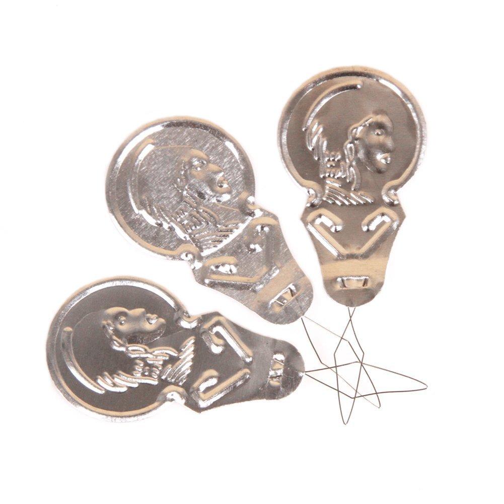 Da.Wa 50x Aluminium Needle Threaders For Hand Or Machine Sewing Quilting Craft