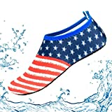 NonEcho Unisex Water Shoes Barefoot Quick-Dry Aqua Socks Skin Shoes for Beach Swimming Surf Yoga Exercise