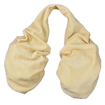toalla para pecho, para el sudor, cómoda y transpirable, mujer, beige, L: Amazon.es: Deportes y aire libre
