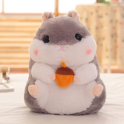 JEWH Cute Cartoon Hamster Plush Toy - Mouse Dolls for Bedroom Decoration - Girl Birthday Gift