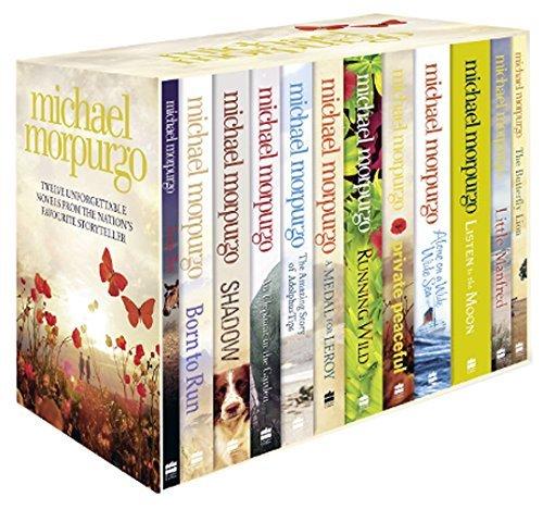 Michael Morpurgo Collection 12 Books Box Set (Farm boy, Born to Run, Shadow, An Elephant in the Garden, The Amazing Story of Adolphus Tips...