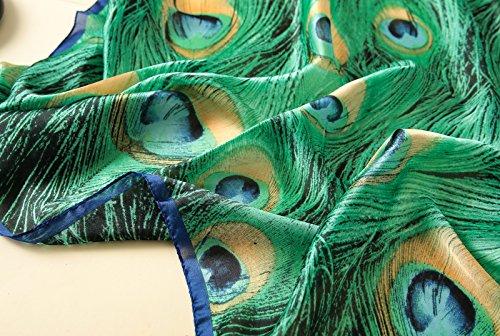 Tourisme Femme En Géométrie 5 Mélangées Anti Tulle Longue Bleu Plage Echarpe Foulard All Coloré Uv De Ete 1 Impression Couleurs tt6AB