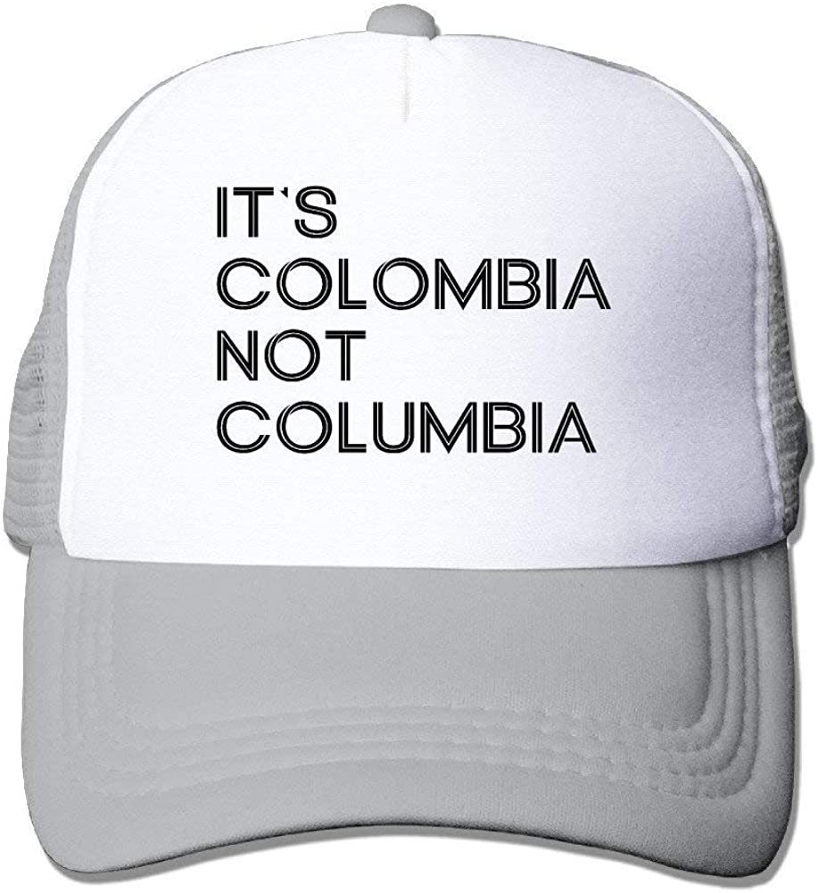 Adult Its Colombia Not Columbia Trucker Hats, Unisex Mesh Caps ...