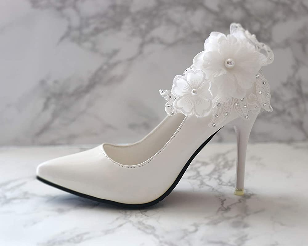 Bridal Shoe Clips Champagne /& Ivory Satin and Lace Wedding Accessory Womens Accessories Bridesmaid Shoeclips Vintage Inspired Bridal