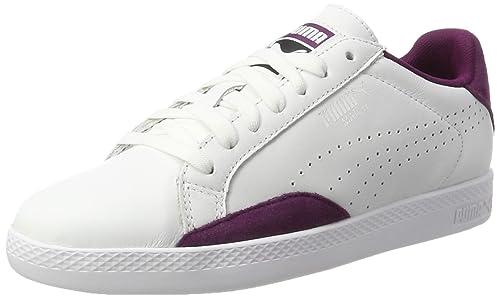 : PUMA Women's Match Lo Classic Trainers, White: Shoes