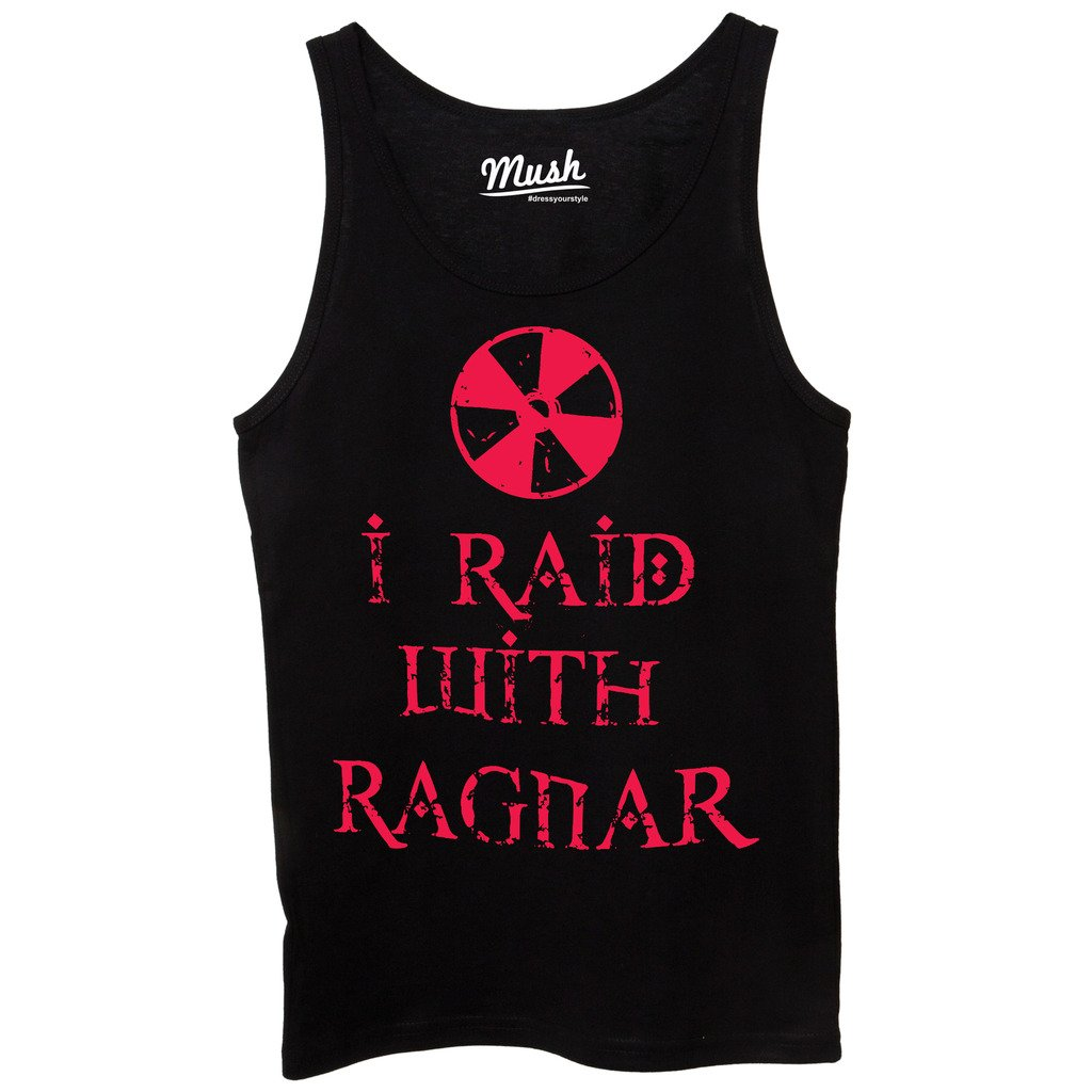 MUSH Canotta Vikings I Raid with Ragnar Film by Dress Your Style