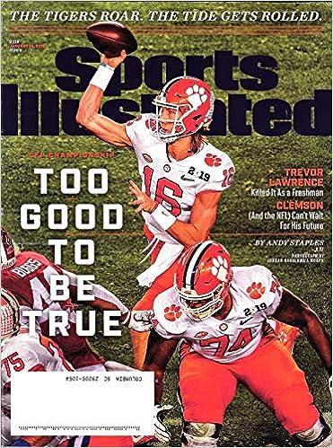 Sports Illustrated Magazine (January 14 b76de37d3