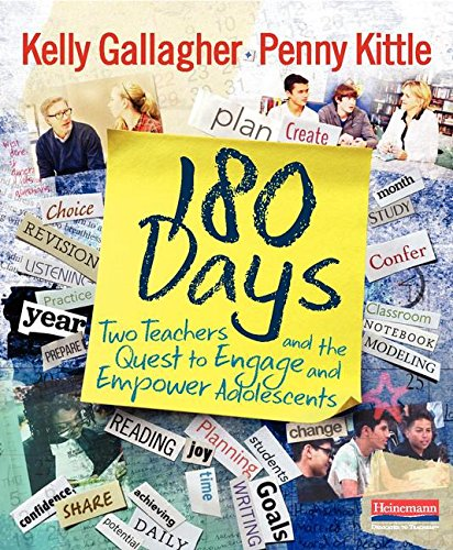 180 DAYS: Two Teachers and the Quest to Engage and Empower Adolescents cover