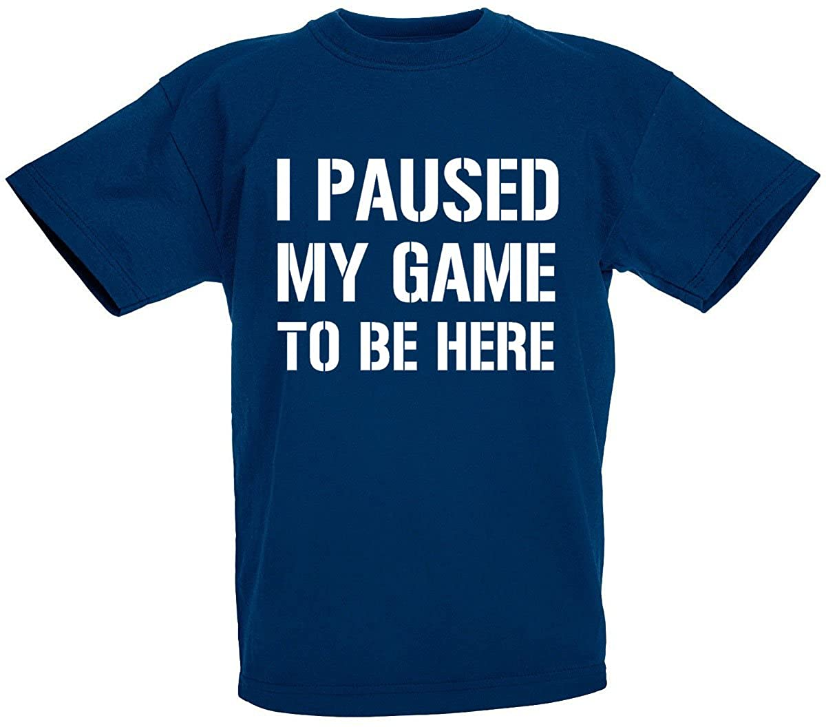 Image result for image of I paused my game shirt