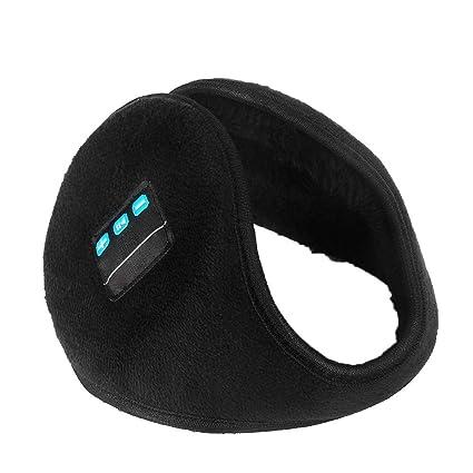 Dream-cool Audífonos Bluetooth para Invierno, cálidos, Unisex, Plegables, Auriculares inalámbricos