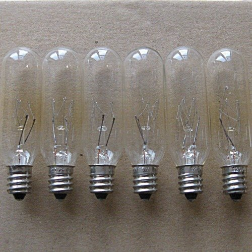 Triangle Bulbs T20335-6-VA 6 pack 6 pack - 15W Tubular Light Bulb for Himalayan Salt Lamps