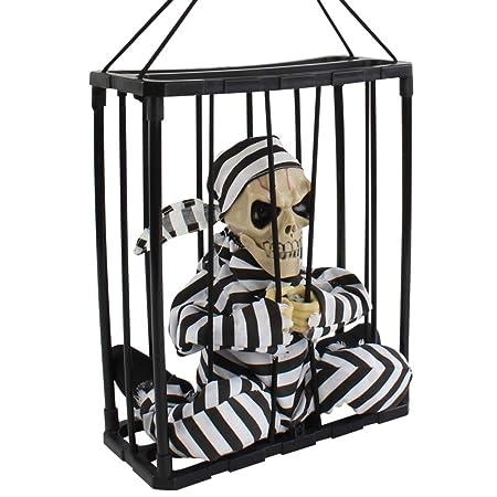 XWYDX Adornos artesanales Colgante de fantasma de Halloween Adorno ...