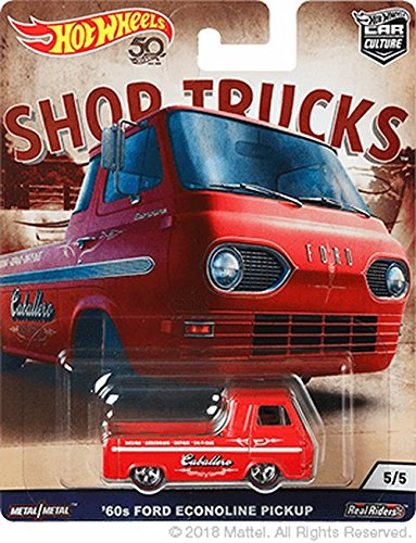 Hot Wheels 60's Ford Econoline Pick up Toy (Ford Econoline Pickup)