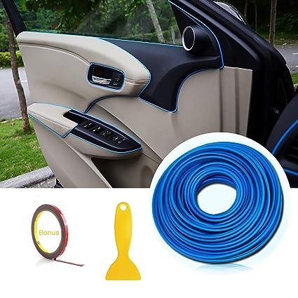 Car Interior Trim Moulding Strips - AUTOMAN 16 4ft Gap Filler Flexible  Decorative Interior Edge Moulding Strip Line Universal Gap Garnish  Accessory