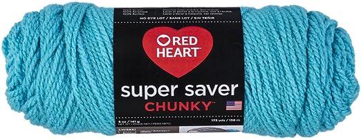 Red Heart Super Saver Chunky Yarn-black