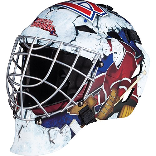 Franklin Sports Montreal Canadiens Goalie Mask - Team Graphic Goalie Face Mask - GFM1500 Only for Ball & Street - NHL Official Licensed Product
