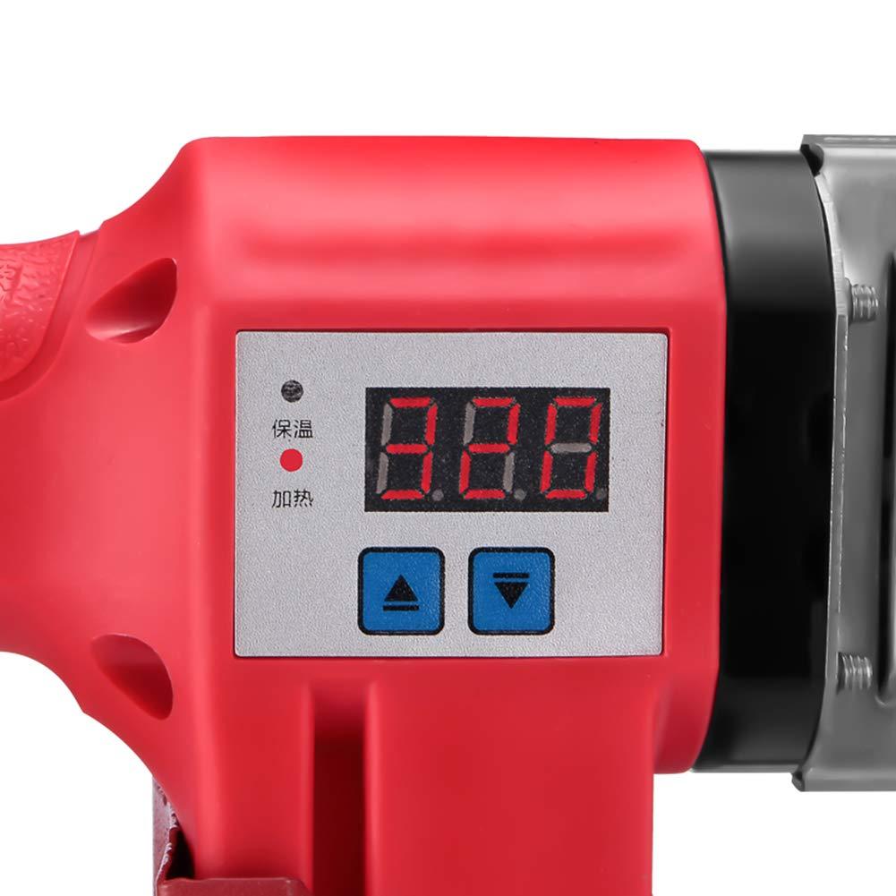 Soldar Para Los Tubos De Polipropileno Polifusor 220V-800W Φ20-32 Mm, Para PPR, PE, PP, Tubo De PVC, Rojo: Amazon.es: Bricolaje y herramientas