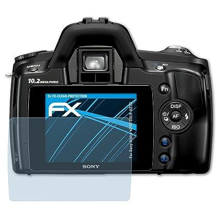 atFoliX Lámina Protectora de Pantalla Compatible con Sony Alpha ...