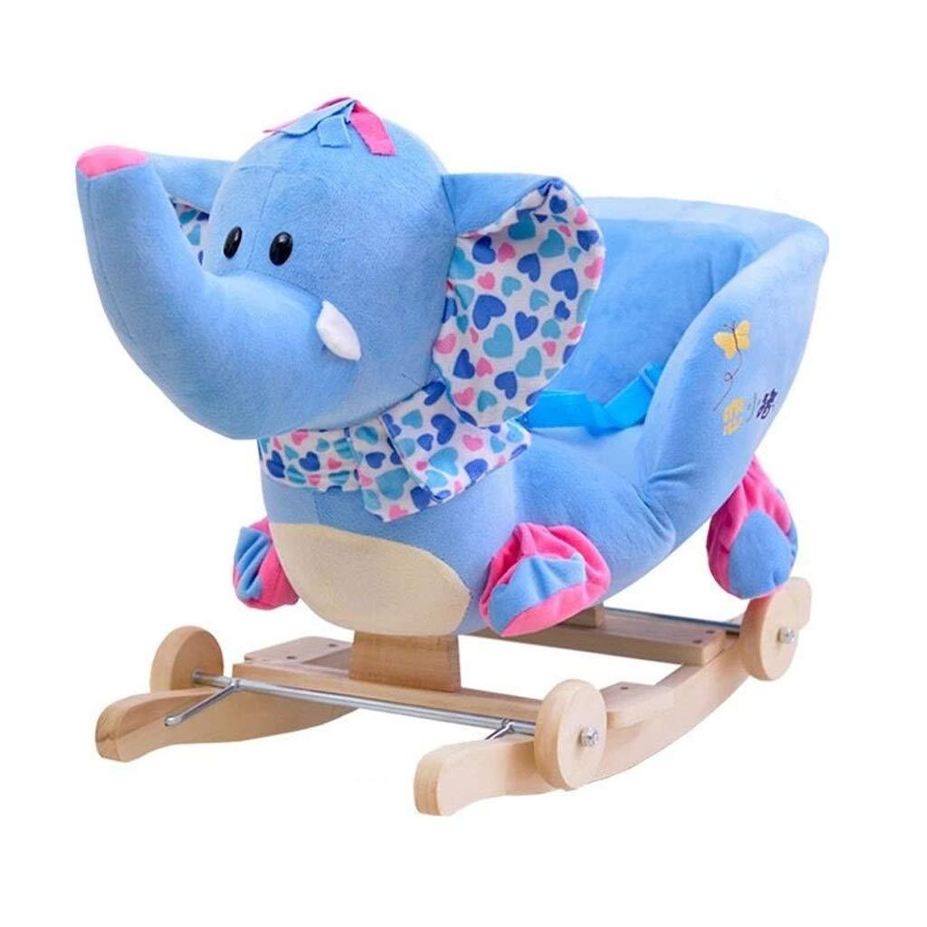 ●日本正規品● 子供のロッキング馬二重使用の多目的ベビーカーの赤ちゃんのプラスチック玩具の赤ちゃんトロイの木馬 (色 : : 青 Green) 青 B07MW1CRGX 青 青, 延寿庵:006fa870 --- svecha37.ru