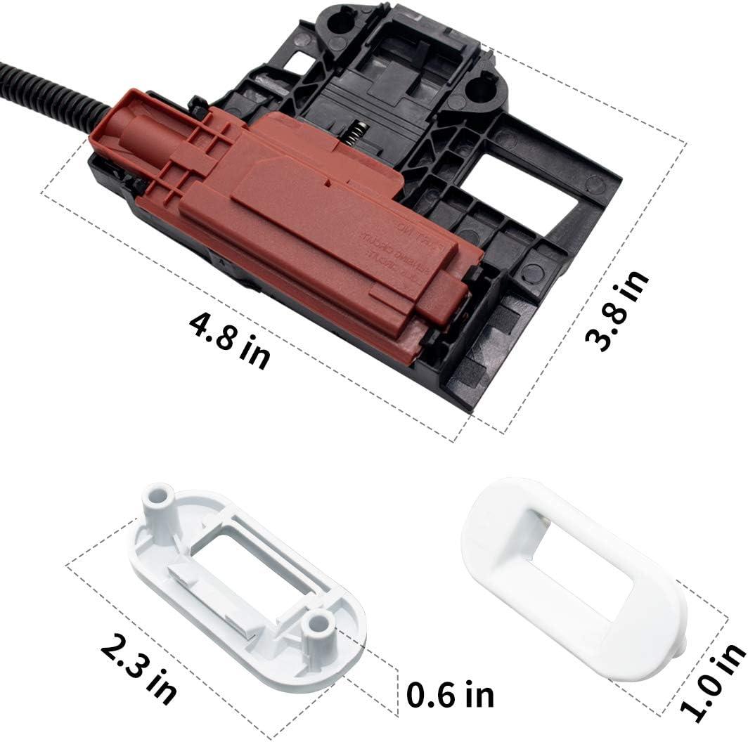Washer Lid Latch Assembly Sikawai W10404050 Washer Lid Lock Latch Switch for Whirlpool Kenmore Washing Machine Replaces W10238287 W10404050VP W10744659