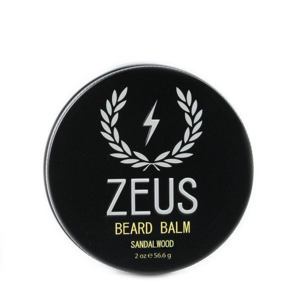 ZEUS Conditioning Beard Balm, Sandalwood, 2 Ounce Newport Apothecary Inc.