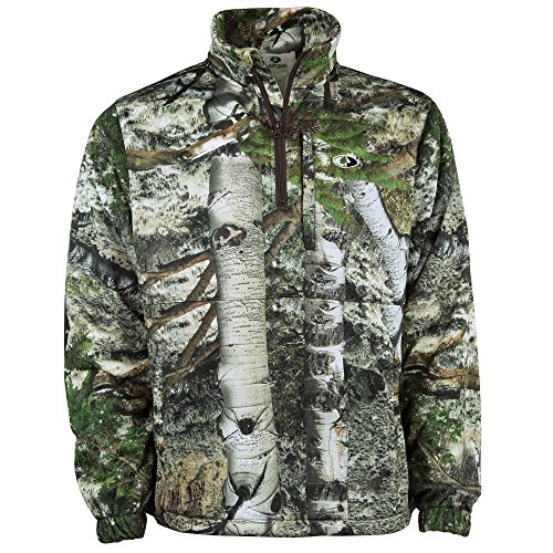 Microfleece Jacket Liner - Mossy Oak Performance 1/4 Zip