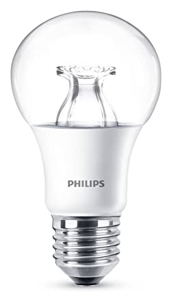 Philips Bombilla Pera E27 LED, 4.6 60 W