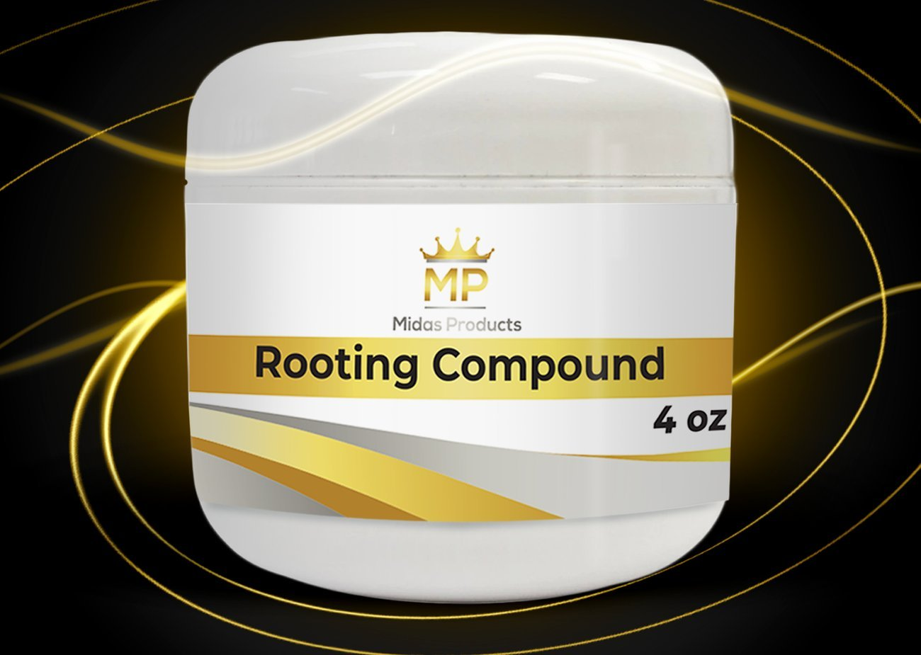 Rooting Gel – IBA Rooting Hormone- Ideal Cloning Gel for Strong Clones - The Key to Plant cloning - Midas Products Rooting Gel Hormone for cuttings 4oz - for Professional and Home Based Growers by Midas Products (Image #2)