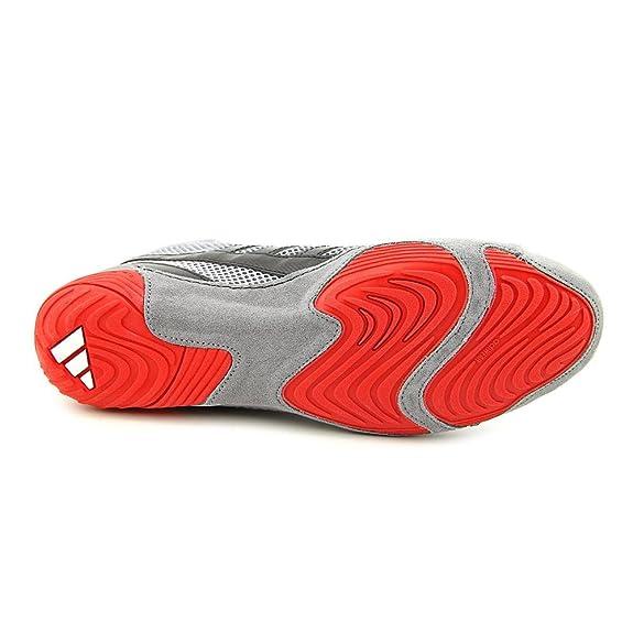 Adidas Speed â??â??Combat 4 Wrestling Chaussures de jeunesse solaire Jaune / solaire Rouge Taille 5. Neptune 100 chaussures de sport de la plate-forme pailleté unisexe avec des pointes noires - (UE 40 = US 8) - fetish  Red PRyzR