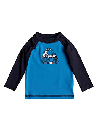 116e6b47a7 Quiksilver Bubble Dream - Long Sleeve UPF 50 Rash Vest for Baby Boys ...