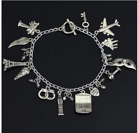 braceletwly Encanto Joyas Máscara Esposas Colgantes Pulseras 50 ...