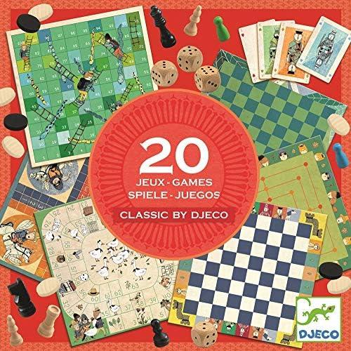 Djeco familiaresJuegos tradicionalesDJECOJuegos clásicos 20 Juegos, Multicolor (15): Amazon.es: Juguetes y juegos