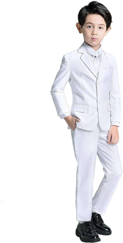 YuanLu Boys Suits 5 Piece online shop Set Blue Limited time sale Boy Suit Royal Slim Fit