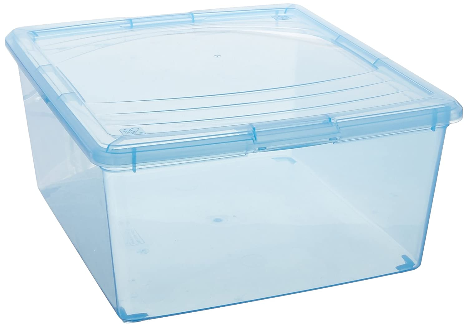 IRIS 101901 6 Quart Modular Storage Box, Clear IRIS USA Inc.