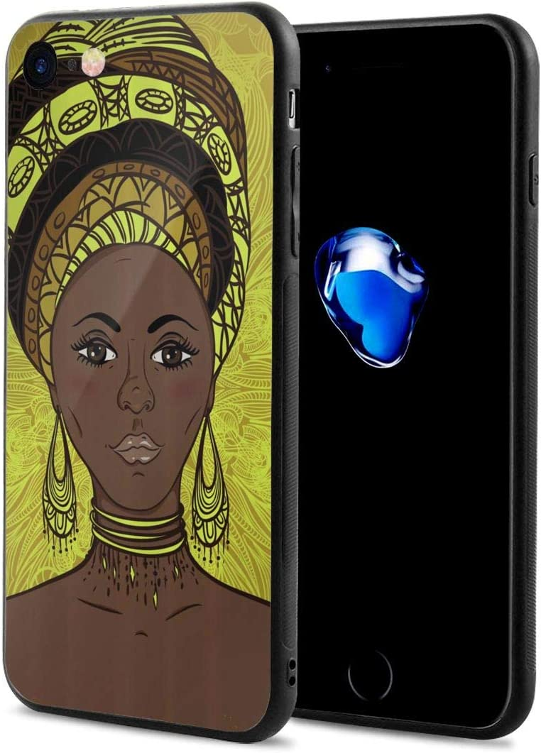 Black Art Unicorn Iphone8 Case Mobile Phone Protection Shell Unique Design Anti-skid Function Slim Fit Iphone8 4.7 Inch